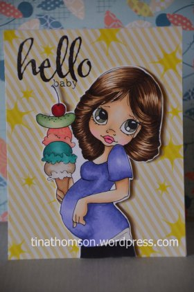 Baby Copic Colouring